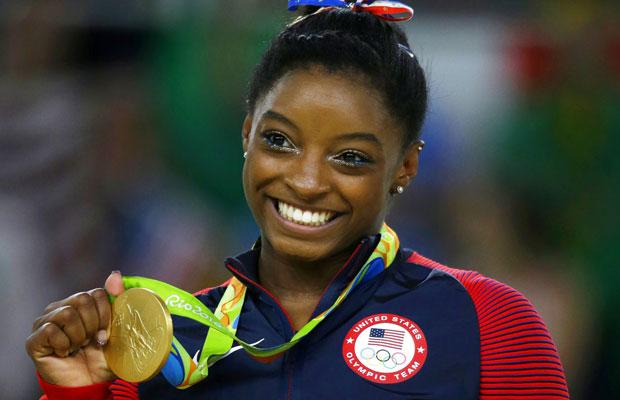 TELEVEN Tu Canal | La estrella olímpica Simone Biles fue ...